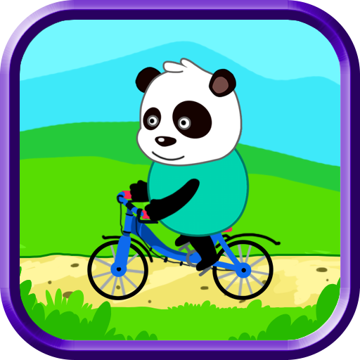 パンダの自転車レース 模擬 App LOGO-硬是要APP