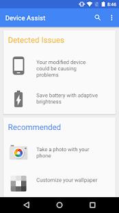 Device Assist Screenshot 2