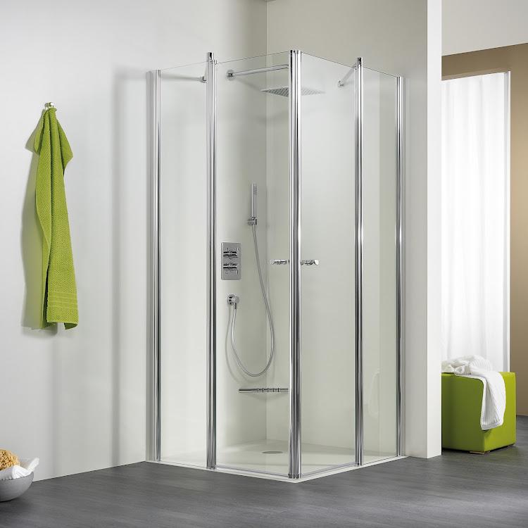 Shower Cabins_04 Exklusiv Eckeinstieg, 4-teilig