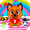 kindergarten - animals icon