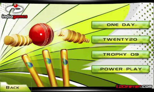Cricket T20 Fever 3D captures d'u00e9cran 1