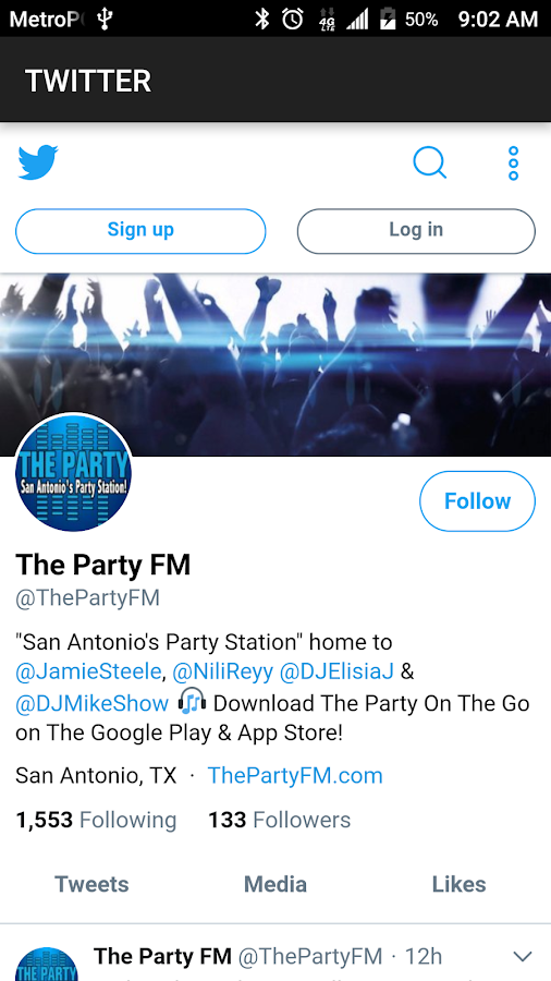 The Party FM- screenshot