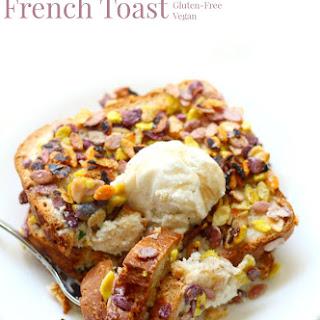 Rainbow Rockin' French Toast (Gluten-Free, Allergy-Free, Vegan).
