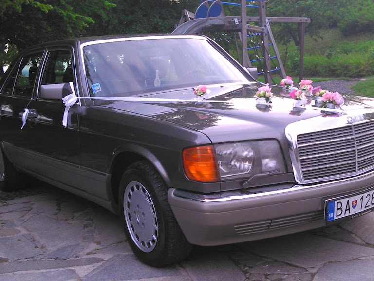 Mercedes Benz W126 500SE Hire Bratislava