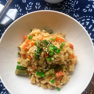 Asian Vegetable Rice.