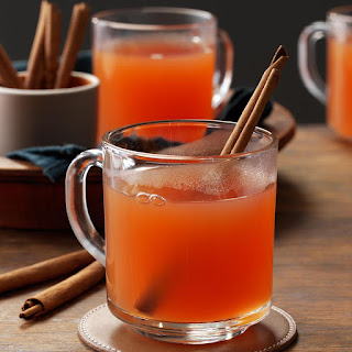 Hot Cranberry Cider.