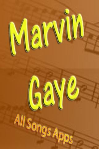 All Songs of Marvin Gaye