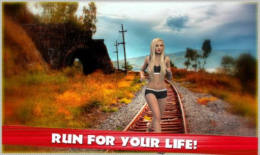 地鐵列車拉什3D