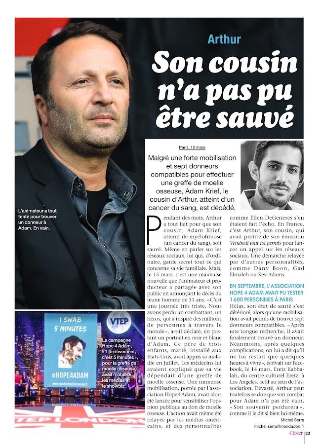 Closer France- screenshot