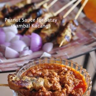 Malaysian Peanut Sauce for Satay