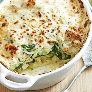 Potato, Spinach and Tuna Casserole