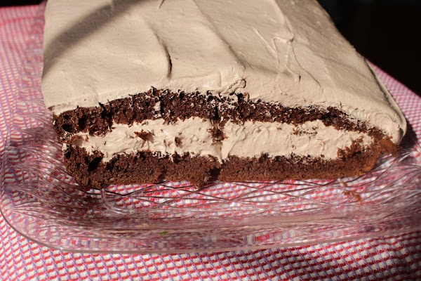 Finally, frost the top layer of the cake. Ready to serve, Enjoy!