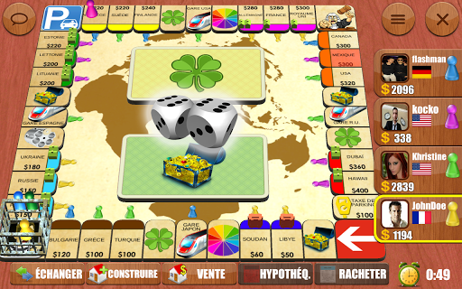 Rento Fortune - Online Dice Board Game fond d'écran 1