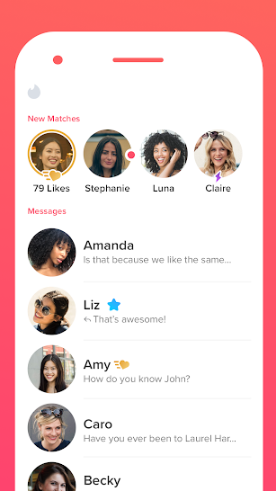 Tinder screenshot for Android