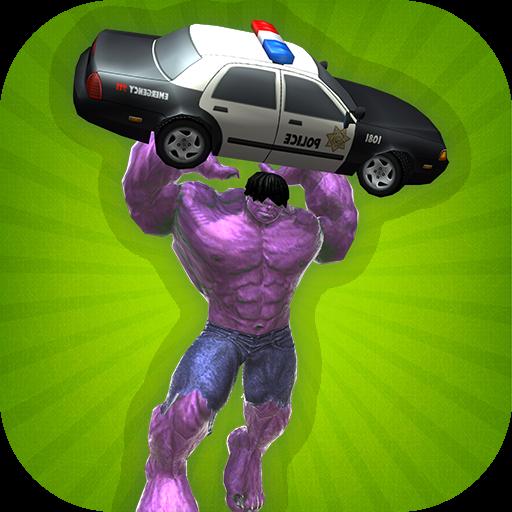 Super Hero Monster Incredible Bulk Battle Revenge