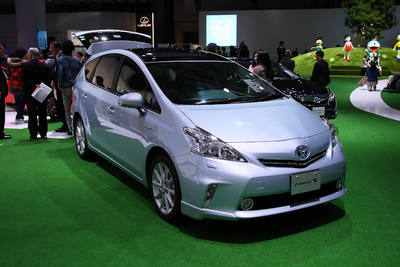 Photo: Prius Plug-in Hybrid - Toyota Booth Photos : Press Day – Tokyo Motor Show 2011