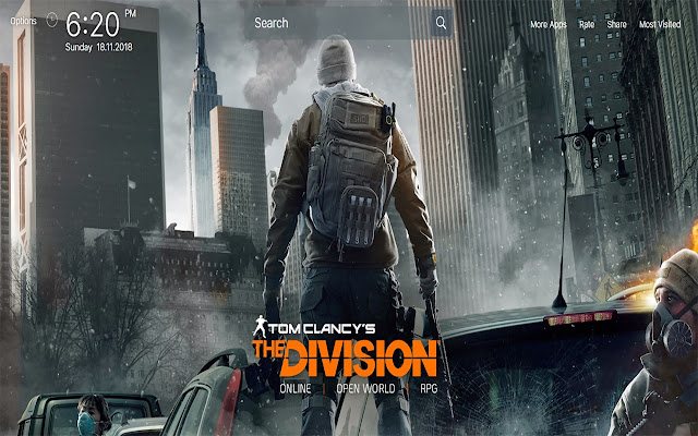 Tom Clancys The Division Wallpapers New Tab