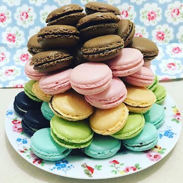 彩色macaron