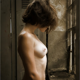 Memories by Igor Debevec - Nudes & Boudoir Artistic Nude ( abandoned place )