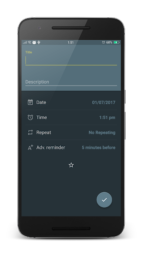 Reminder - Pro app for Android screenshot