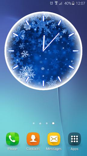 雪花 模拟时钟