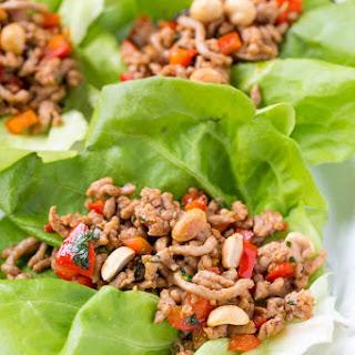 20 Minute Pork Lettuce Wraps Recipe