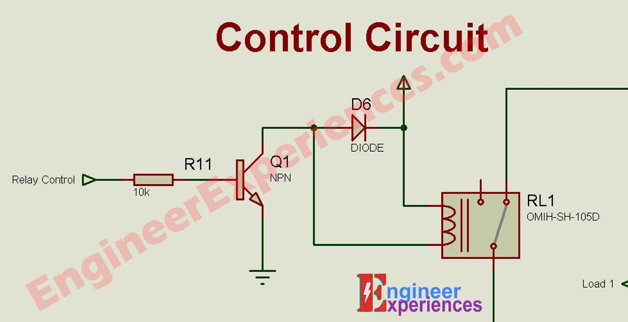 Control Circuit of 3 phase Smart Energy Meter