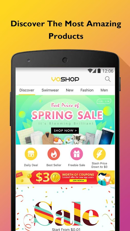 YoShop - Deals Never End- screenshot