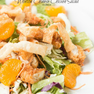 WonTon Chinese Chicken Salad
