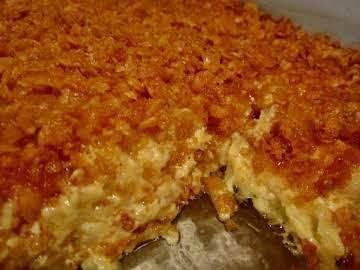 Cheesy Chicken And Potato Bake Recipe