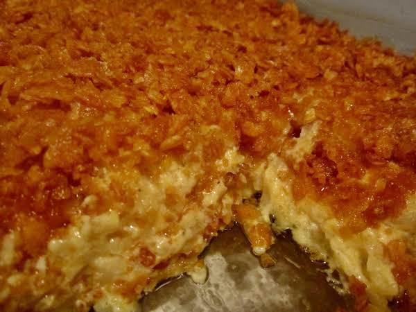 Cheesy Chicken And Potato Bake