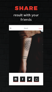 INKHUNTER - try tattoo designs Screenshot