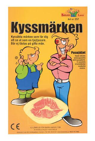 Kyss Klistermärken