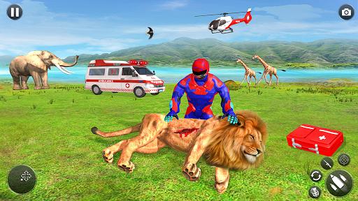 Light Superhero Speed Hero Robot Rescue Mission apkdebit screenshots 8