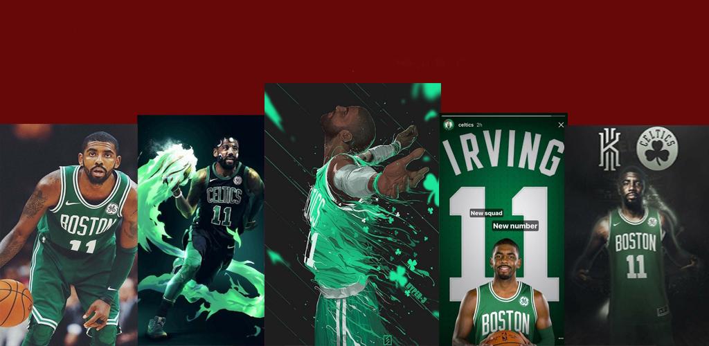 Descargar Kyrie Irving Wallpaper Celtics Apk última Versión