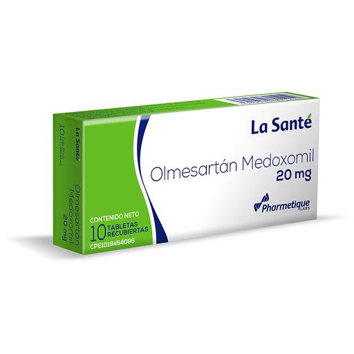 Olmesartan Medoximil Elter 20 mg x 10 Tabletas