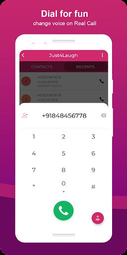 Just4Laugh | Voice Changer App screenshot 5