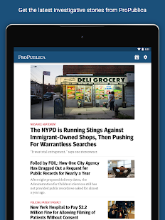ProPublica- screenshot thumbnail