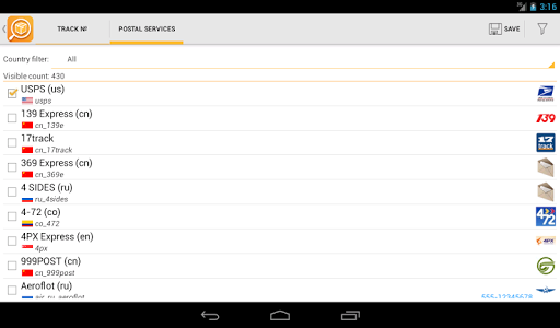 TrackChecker Mobile 2.25.8 screenshots 20