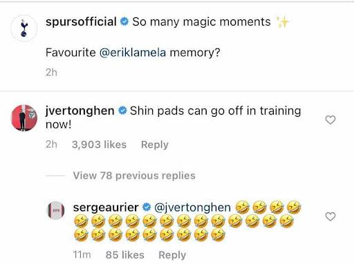 'Shin pads': Vertonghen posts hilarious eight-word Instagram verdict as Tottenham sell player