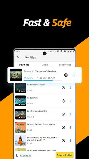 Video Downloader, Private File Downloader & Saver screenshot 3