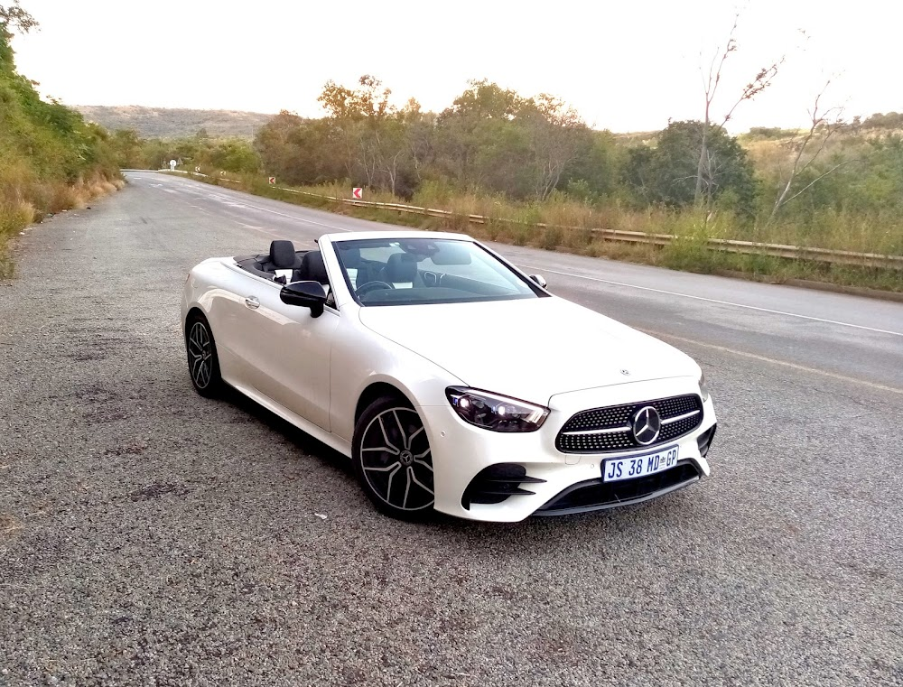 Mercedes E300 cabrio is a smooth-riding indulgence - Business Day
