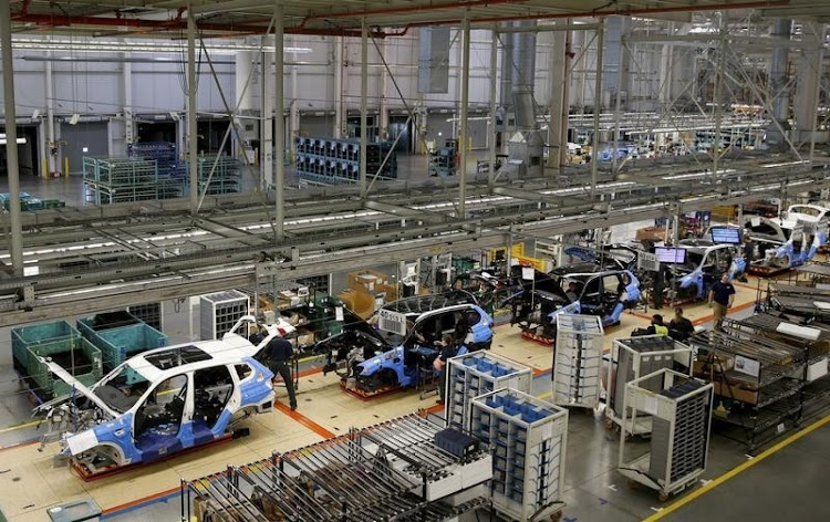 A BMW manufacturing plant. Picture: REUTERS