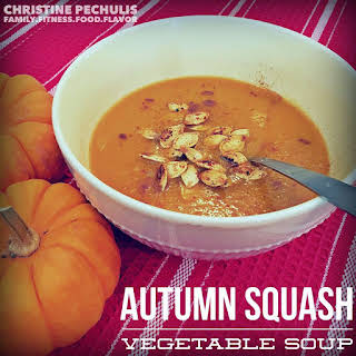 Autumn Squash Vegetable Soup.
