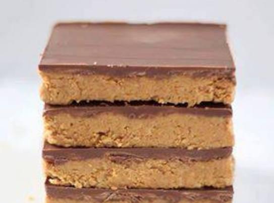 Reeses Peanut Butter- No Bake Bars Recipe
