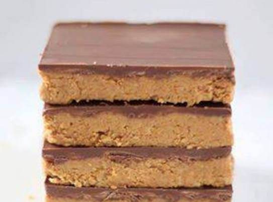 Reeses Peanut Butter- No Bake Bars Recipe