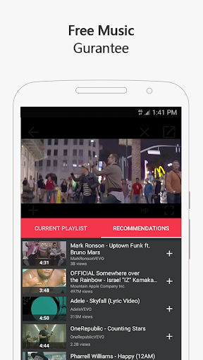 Free music for YouTube: MIXI 1.0.4 screenshots 2