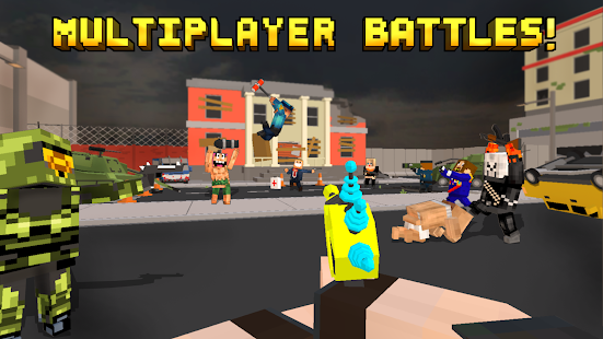 Pixel Fury: Multiplayer in 3D - náhled
