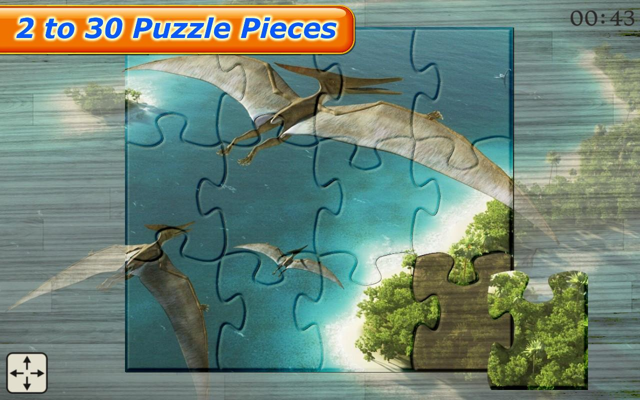 Dinosaur Jigsaw Puzzles Games- screenshot