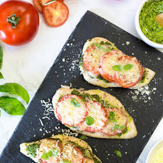 Chicken Pesto Tomato Mozzarella Recipes.